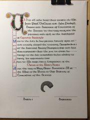 Eyvindr Bjarnylr - Order of the Ram's Horn